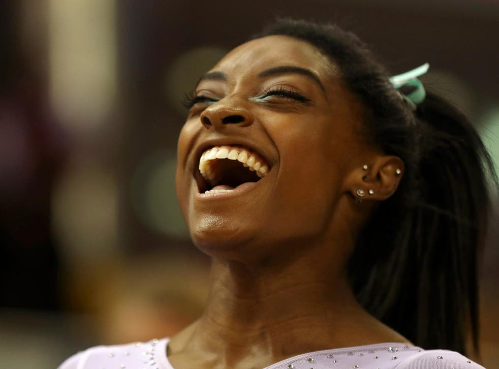 Simone Biles is comfortably cementing her legacy as the greatest gymnast who has ever walked the Earth