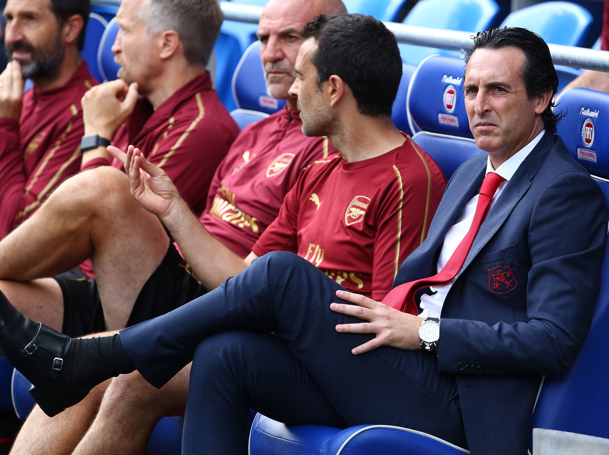 Arsenal news: Unai Emery determined to help club 'write a new history' – starting with Liverpool on Saturday