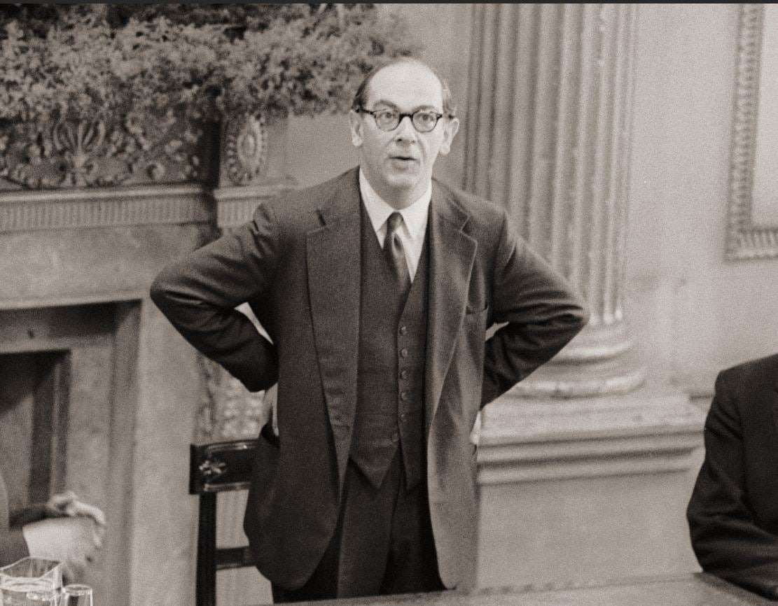 A Life in Focus: Sir Isaiah Berlin, philosopher and