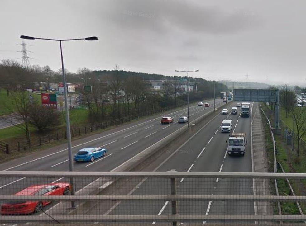 The M5 was closed in both directions between junctions 3 and 4 for nearly six hours after the collision