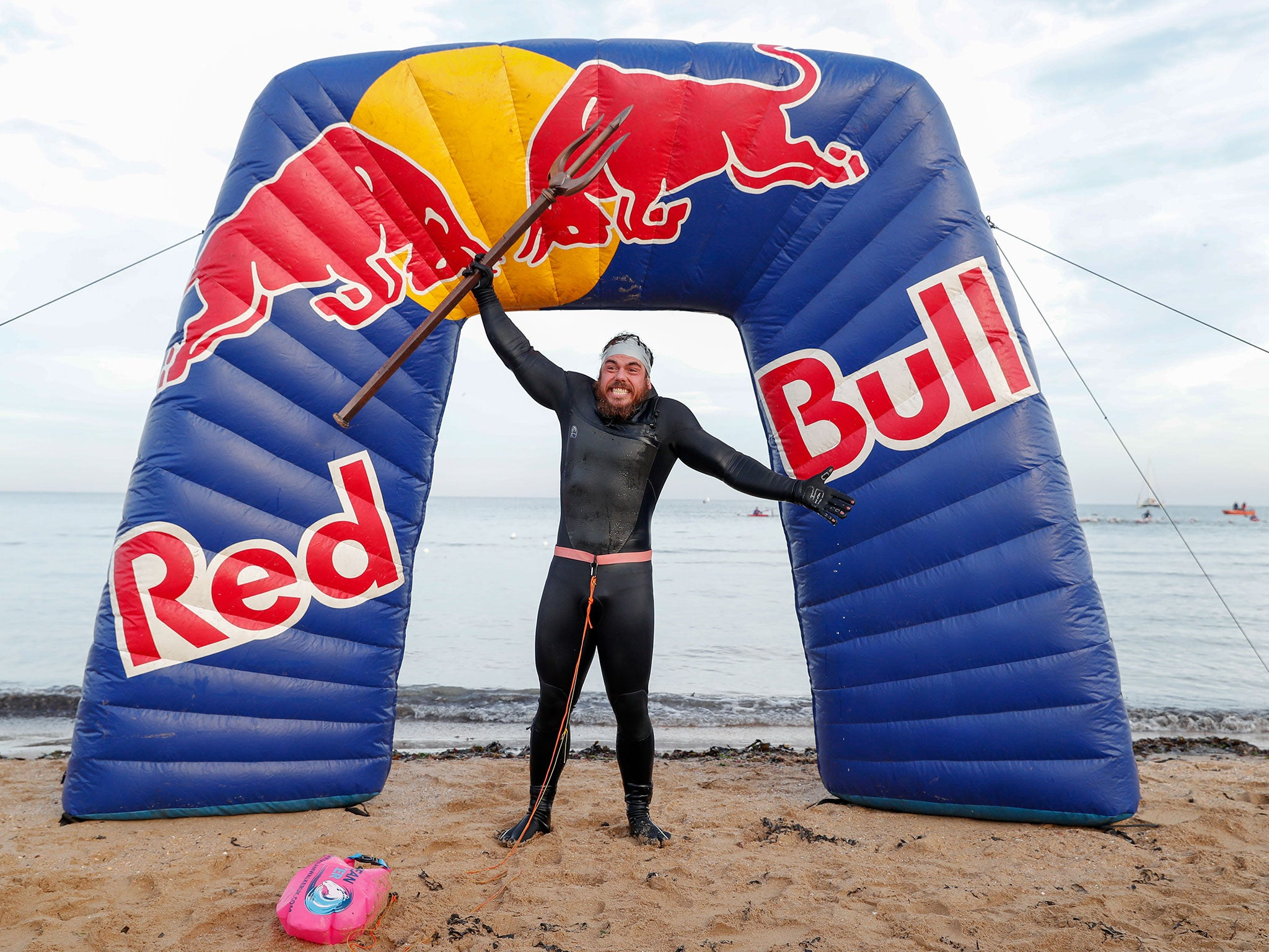 Ross Edgley: Adventurer becomes first person to swim around entire