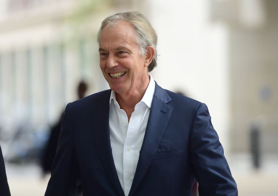 Image result for tony blair 2019