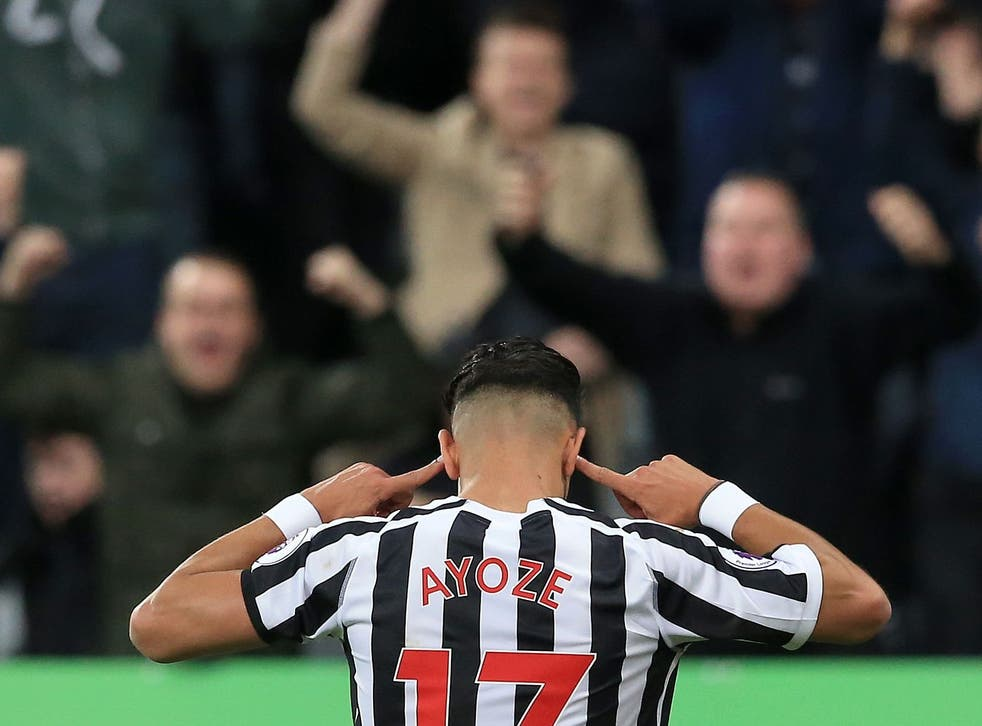 Ayoze Perez celebrated his match-winning goal in reference to the jeers he received when he came on