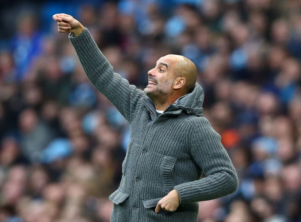 Pep Guardiola was not fully satisfied with Manchester City's performance