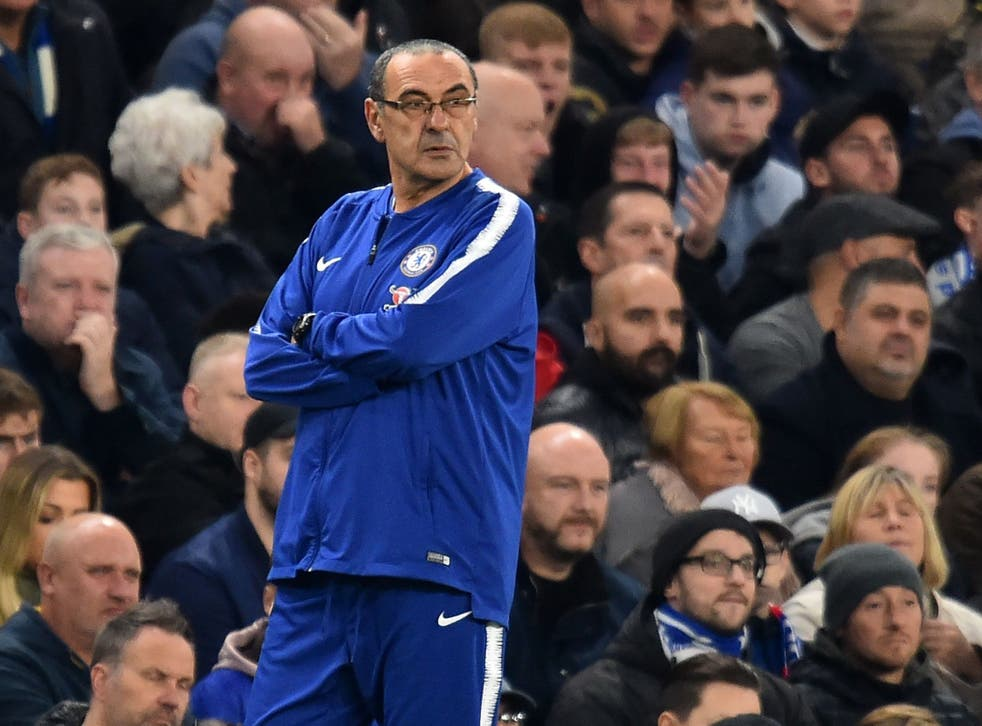 Maurizio Sarri demands more from his side despite another win