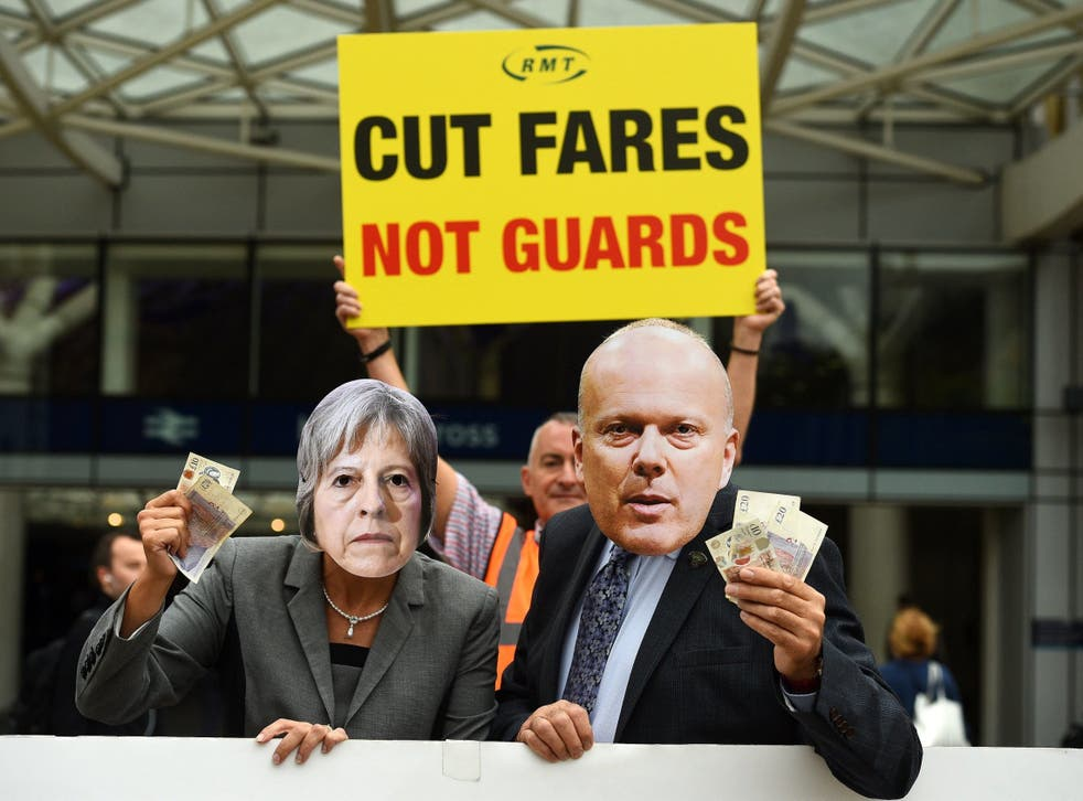 For failing, flailing Grayling, the transport brief has rarely been plain sailing