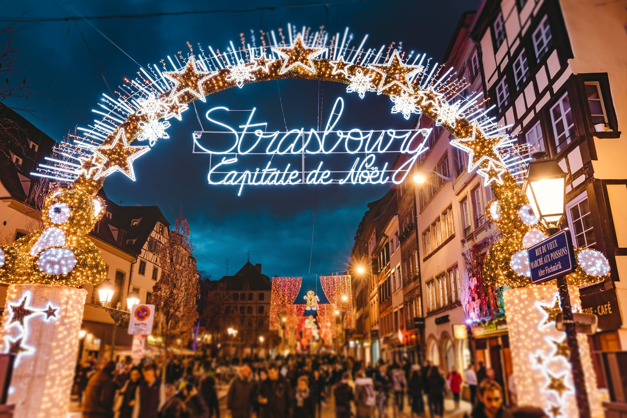 strasbourg had the first ever christmas market in france - Best Christmas Markets