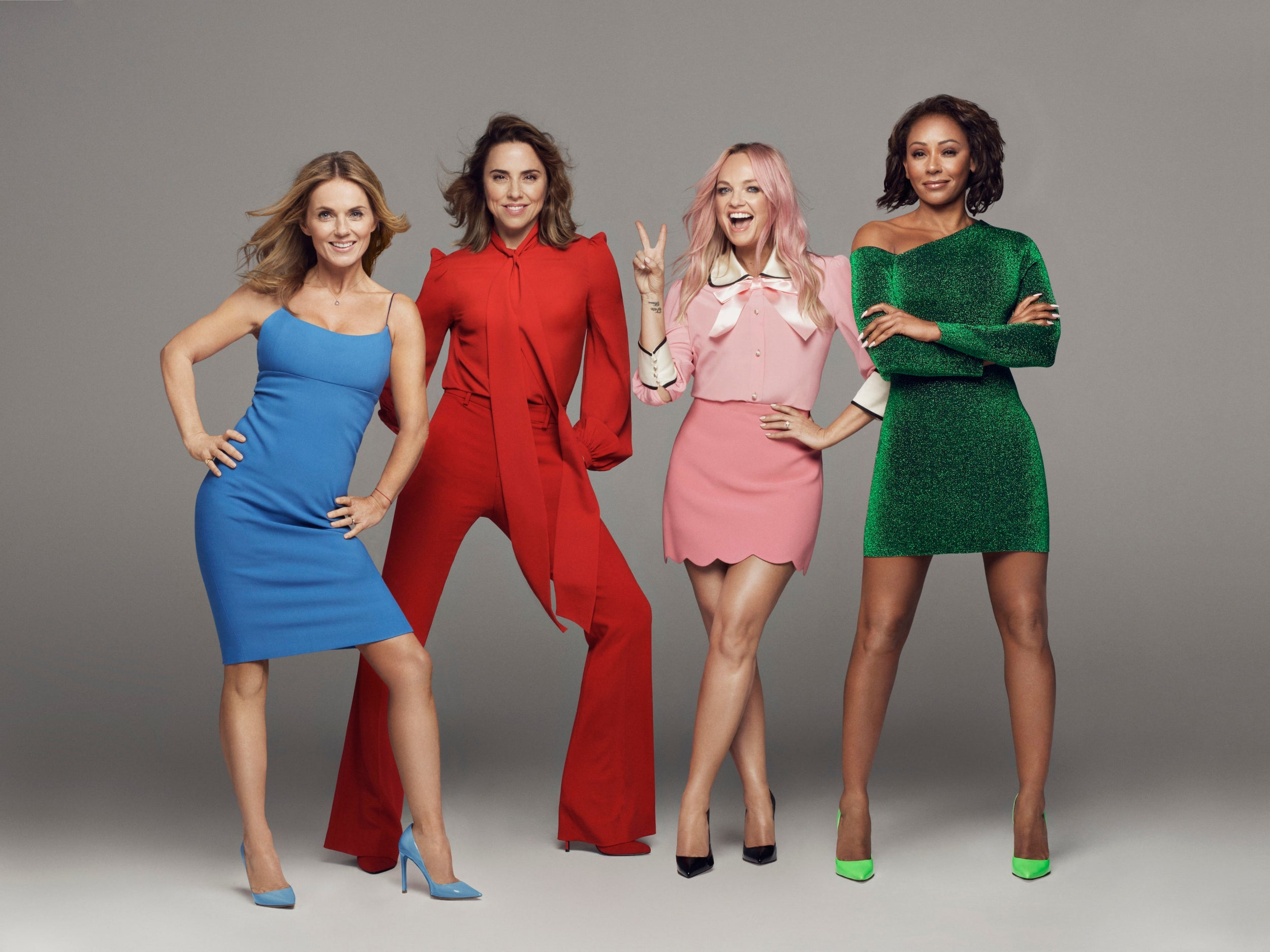 Spice Girls style Get the look of the iconic 90s girl band