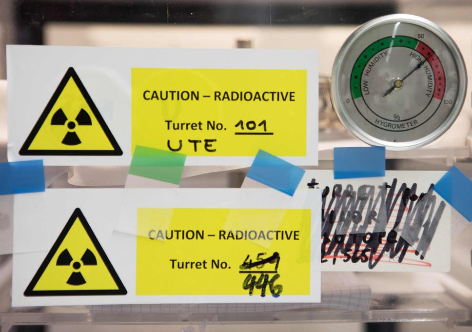 US school closes for rest of year as radioactive material