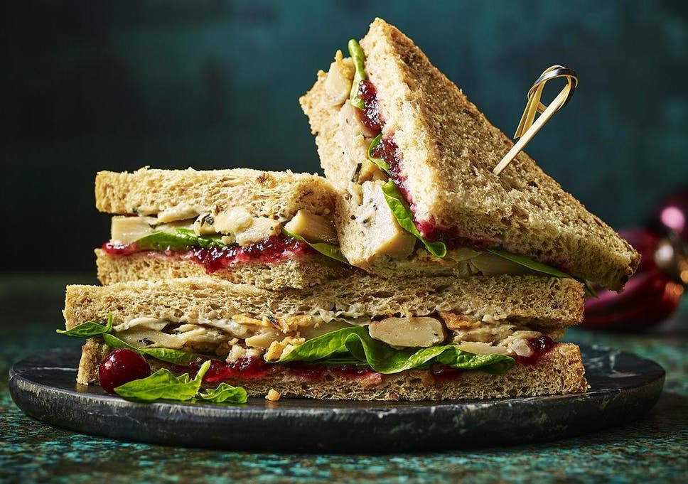6 Best Christmas Sandwiches For Vegetarians And Vegans The