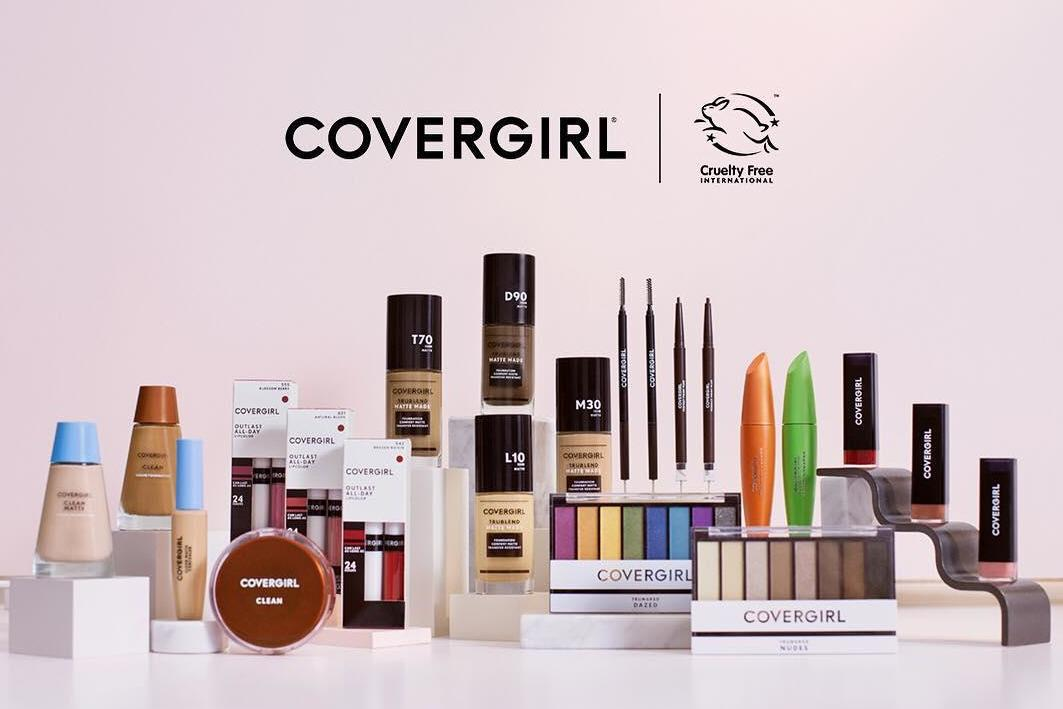 CoverGirl becomes biggest makeup brand to receive cruelty-free Leaping Bunny logo