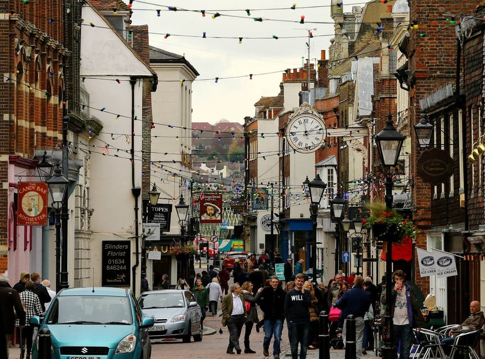 A bustling high street. But how many shops will still be there in ten years?