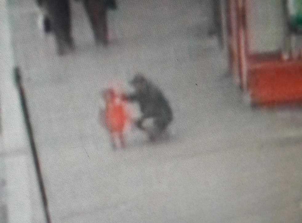 """Police have released CCTV of a man and a girl after a report of """"a possible child abduction"""""""