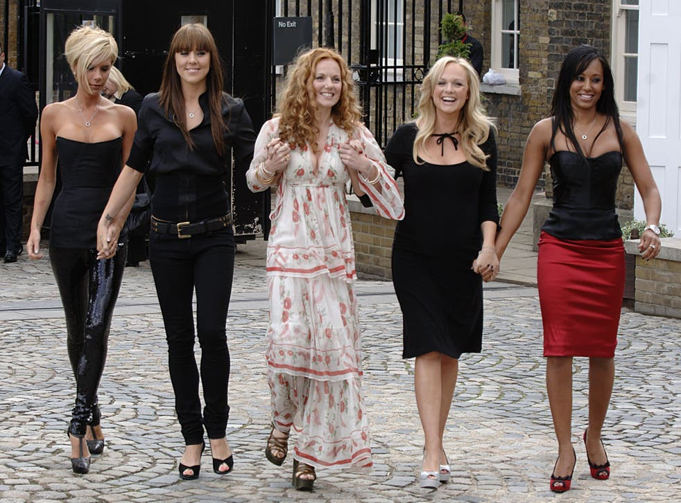 Posh, Sporty, Ginger, Baby and Scary