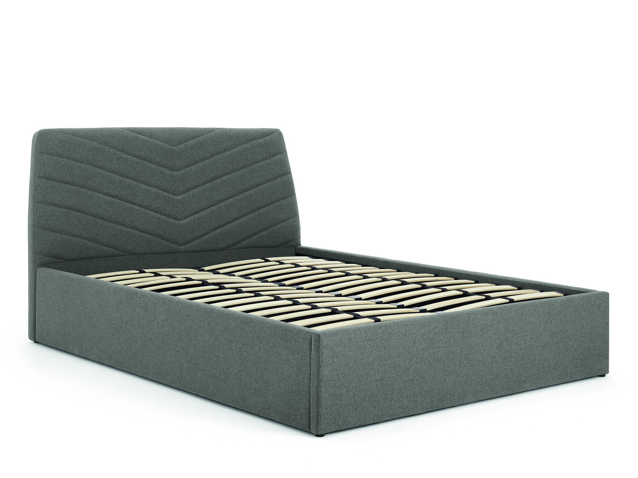 The Lex storage bed is ideal for smaller spaces. The slats lift from the  end c53affd2eb