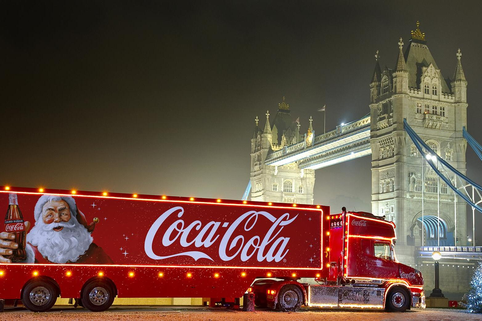 Coca-Cola Christmas truck tour dates and locations revealed