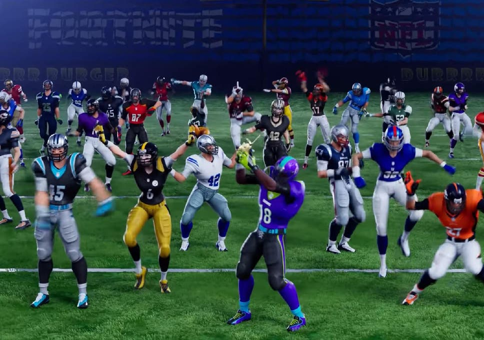 fortnite partners with nfl to bring american football outfits for all 32 teams - how to get football skins in fortnite for free
