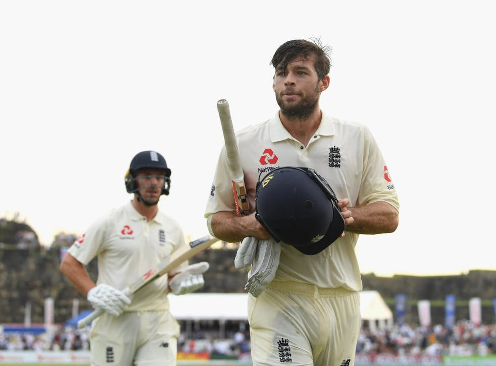 Foakes has his eyes on three figures on day two