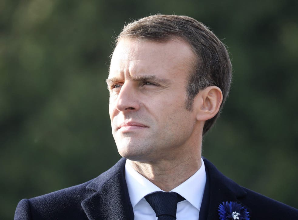 Six people have been arrested on suspicion of plotting to attack French president Emmanuel Macron