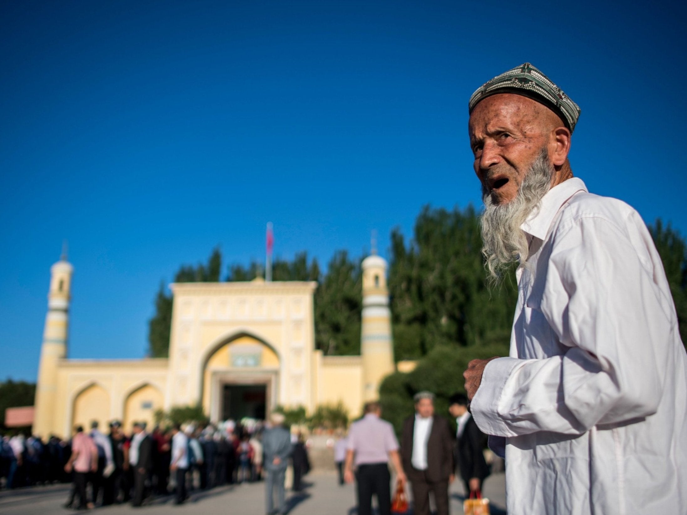 Turkey calls on China to close Muslim 'concentration camps' where one million Uighurs have been detained