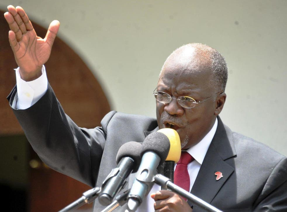 President John Magufuli's government has been criticised over growing authoritarianism