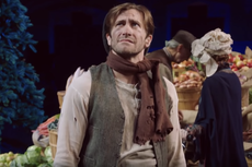 Jake Gyllenhaal stars with Stephen Colbert in midterm elections skit