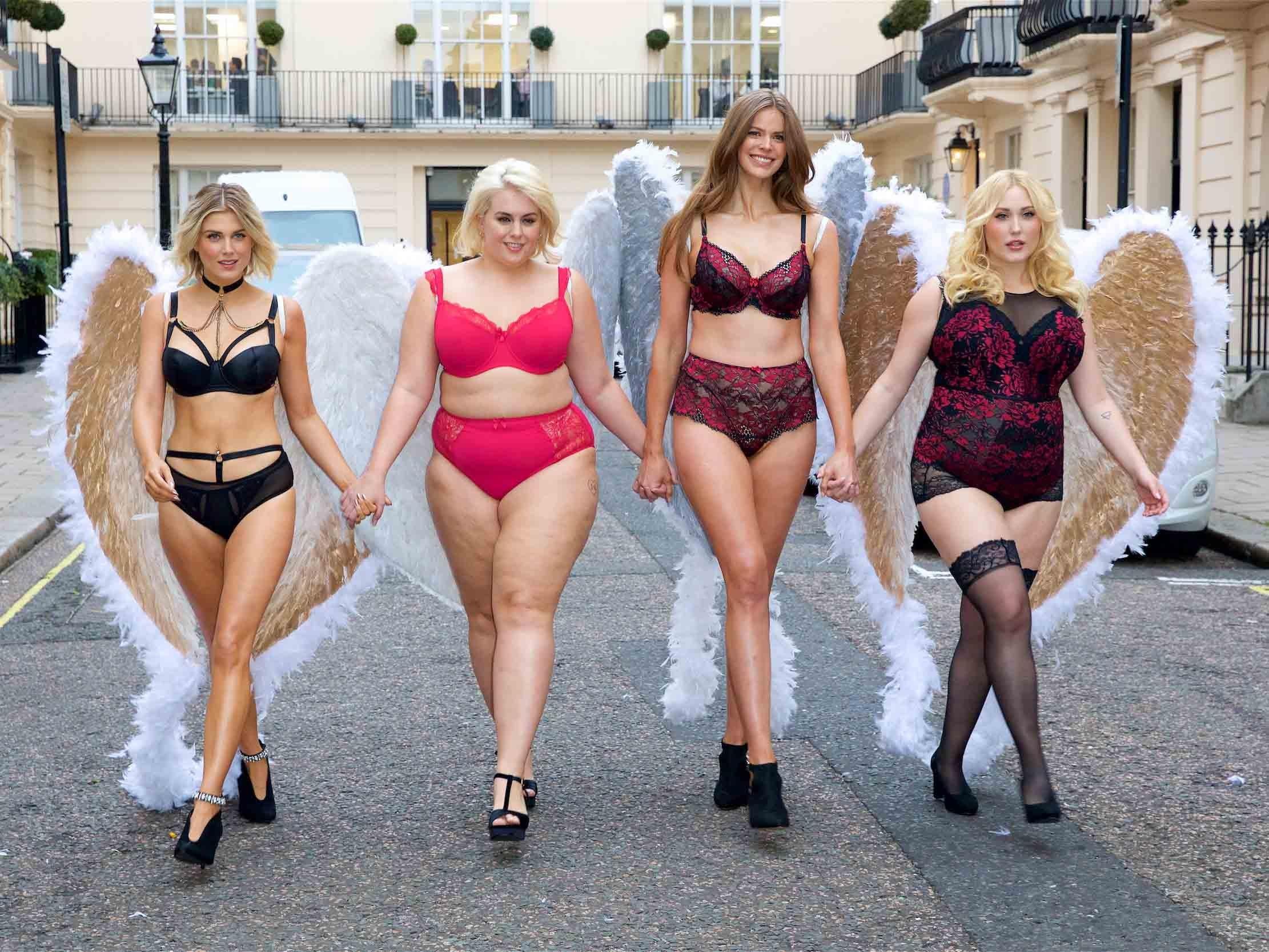 13cef0ffd20c9 Models organise diverse catwalk to protest Victoria s Secret Fashion Show