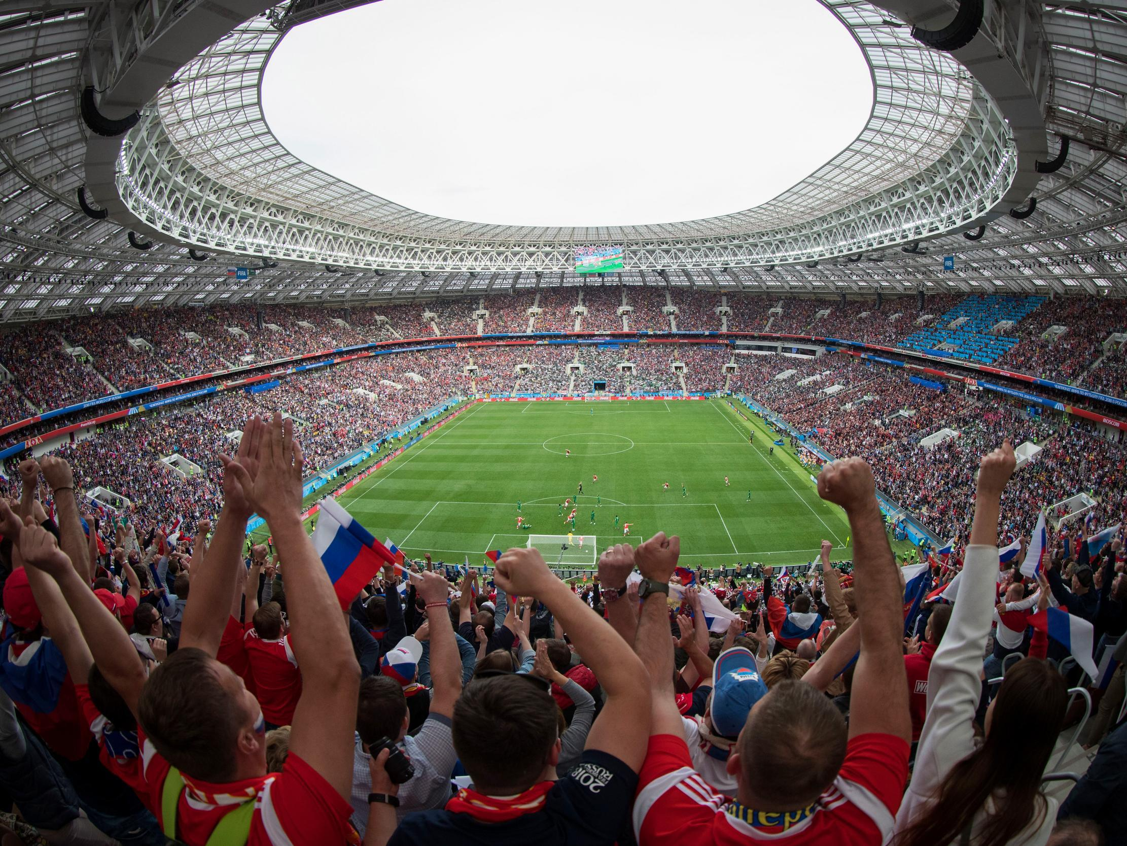 Russia claims it foiled terrorist plans to use drones to attack supporters at last summer's World Cup