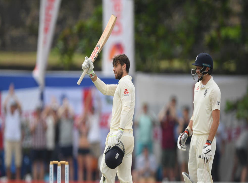 Ben Foakes' century saved England's first innings and put them in the driving seat
