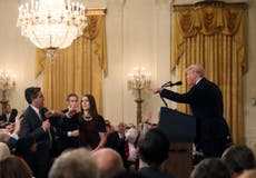 White House suspends CNN reporter's press pass after Trump row