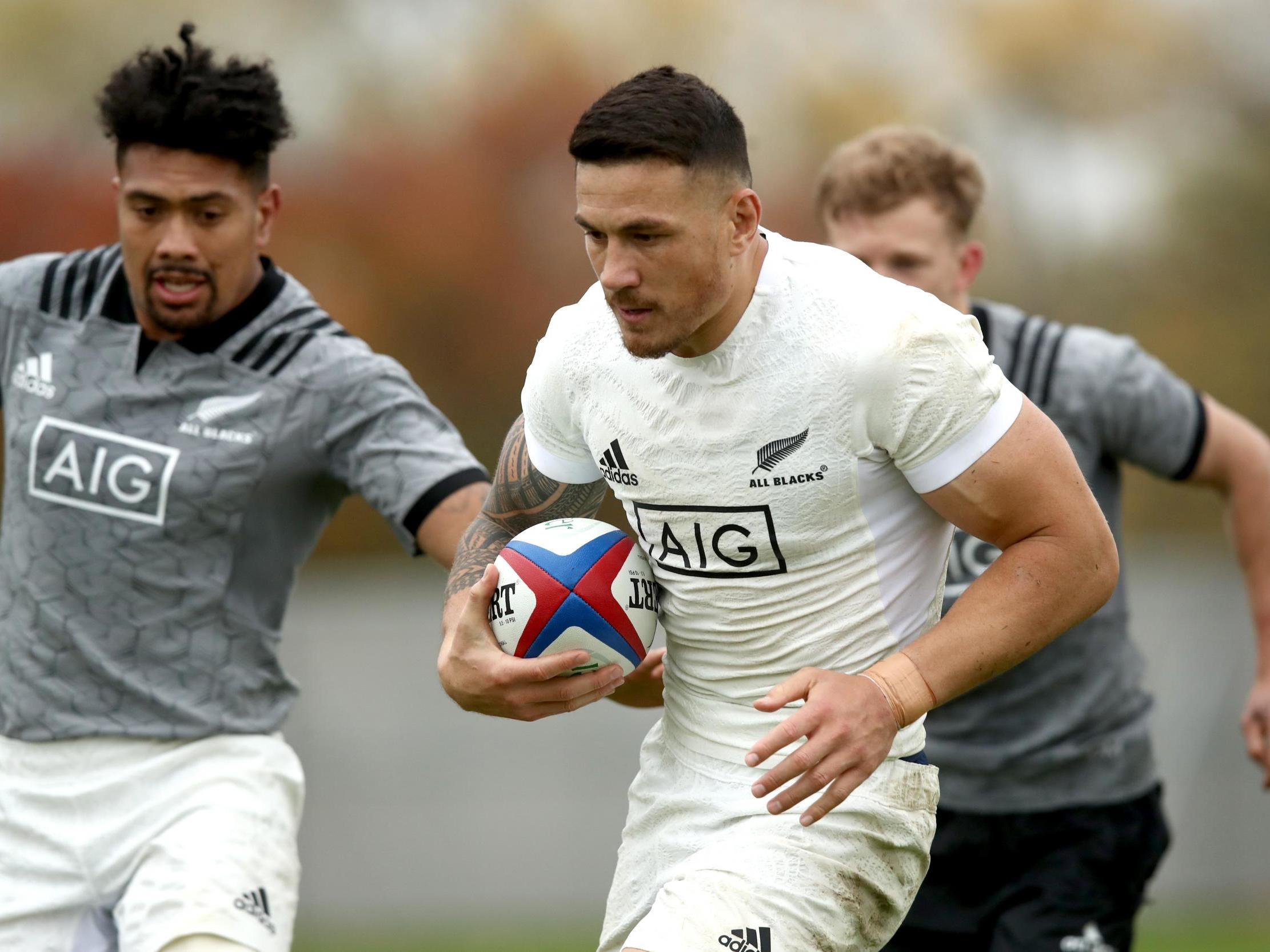 England vs New Zealand: All Blacks stick with out-of-form Sonny Bill Williams as ex-bouncer starts at prop