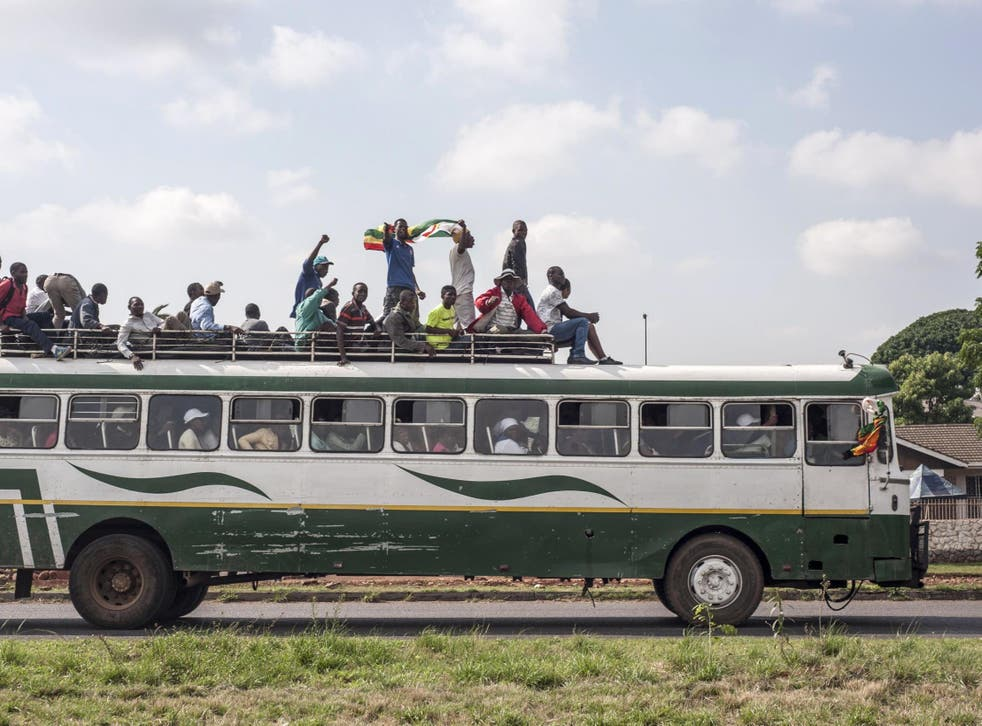 File image of a bus in Zimbabwe. Crashes are common due to poor infrastructure and speeding