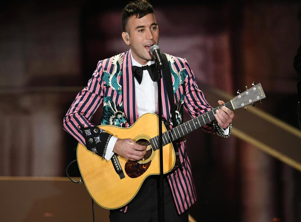 Musician Sufjan Stevens performs onstage during the 90th Annual Academy Awards at the Dolby Theatre at Hollywood & Highland Center on 4 March, 2018 in Hollywood, California.