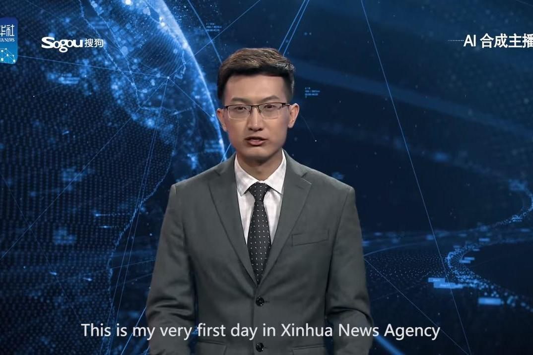 China creates AI newsreaders who can work 24 hours a day and read whatever editors type