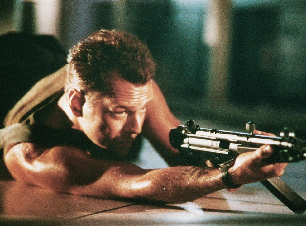 Bruce Willis was able to capture the black humour that arises in life-threatening situations