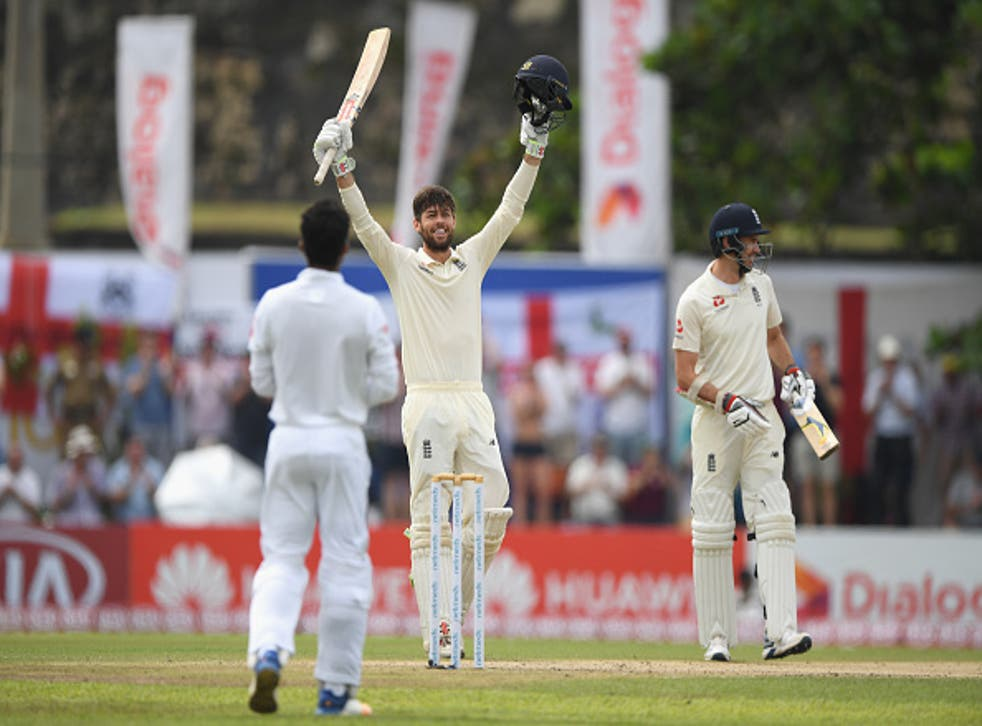 Ben Foakes became just the second England wicketkeeper in history to score a century on his Test debut
