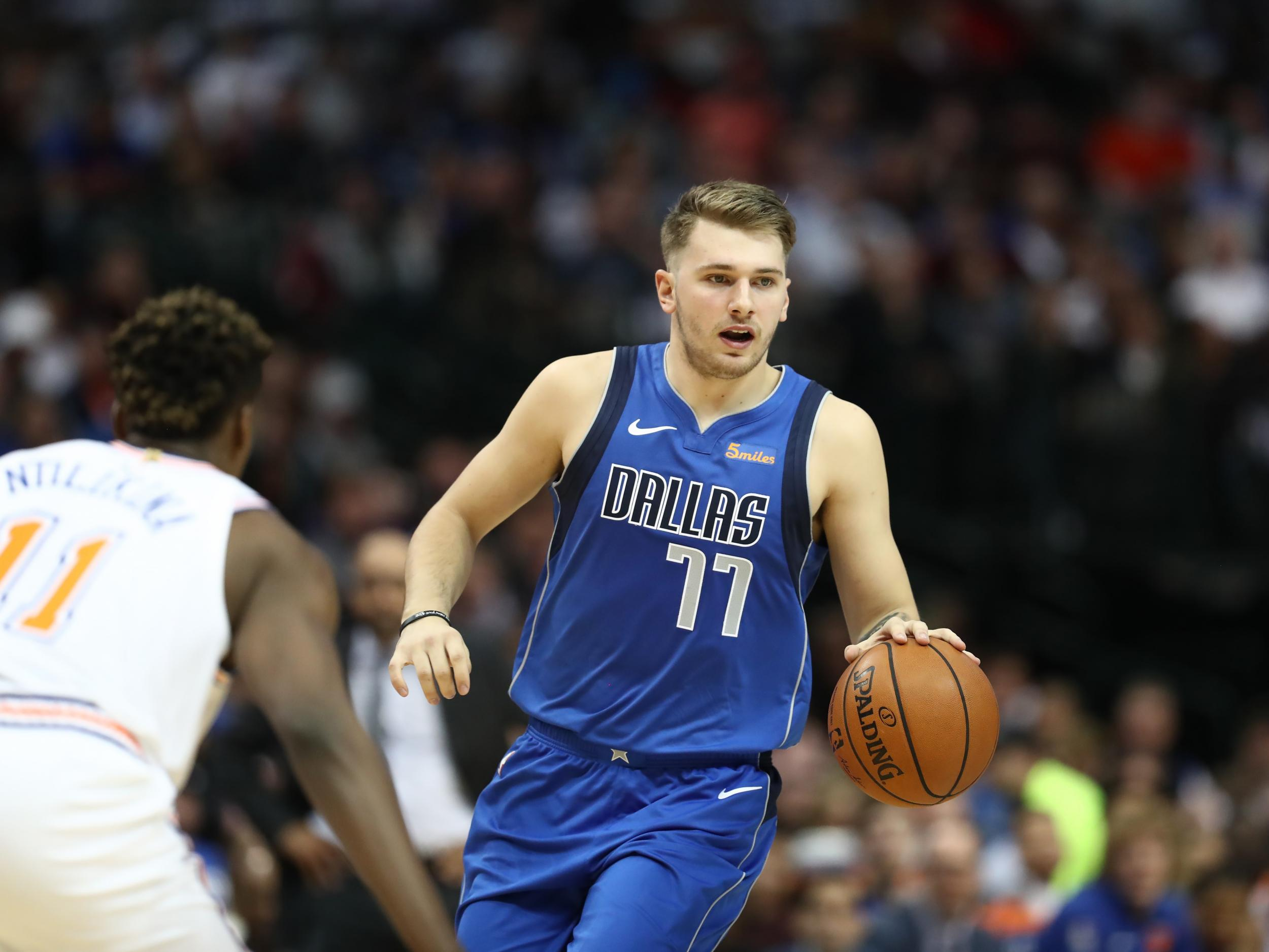 7024476d015 Luka Doncic is setting the bar for Europeans in NBA and already has LeBron  James' royal seal of approval