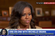 Michelle Obama opens up about miscarriage and use of IVF to conceive