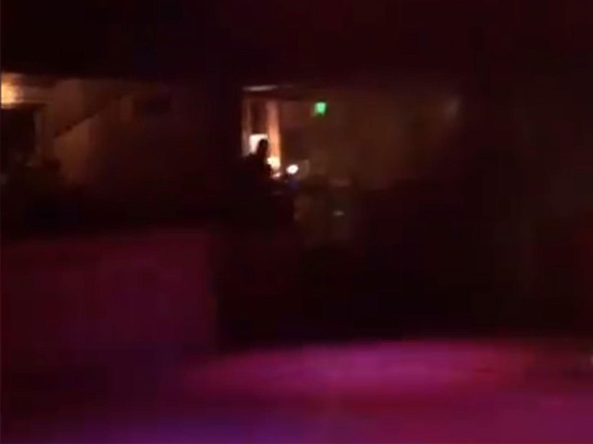 Guys, run, he's coming out this door': Survivor's video