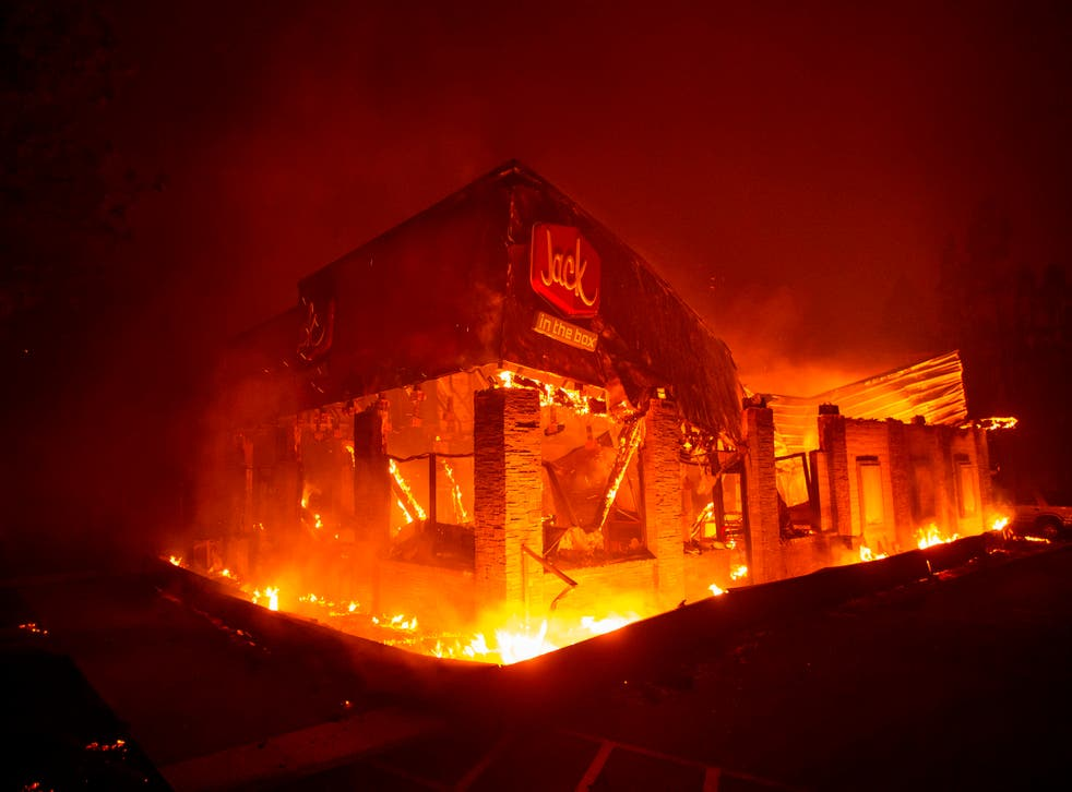 <p>In 2018 wildfires leveled nearly the entire town of Paradise, California</p>