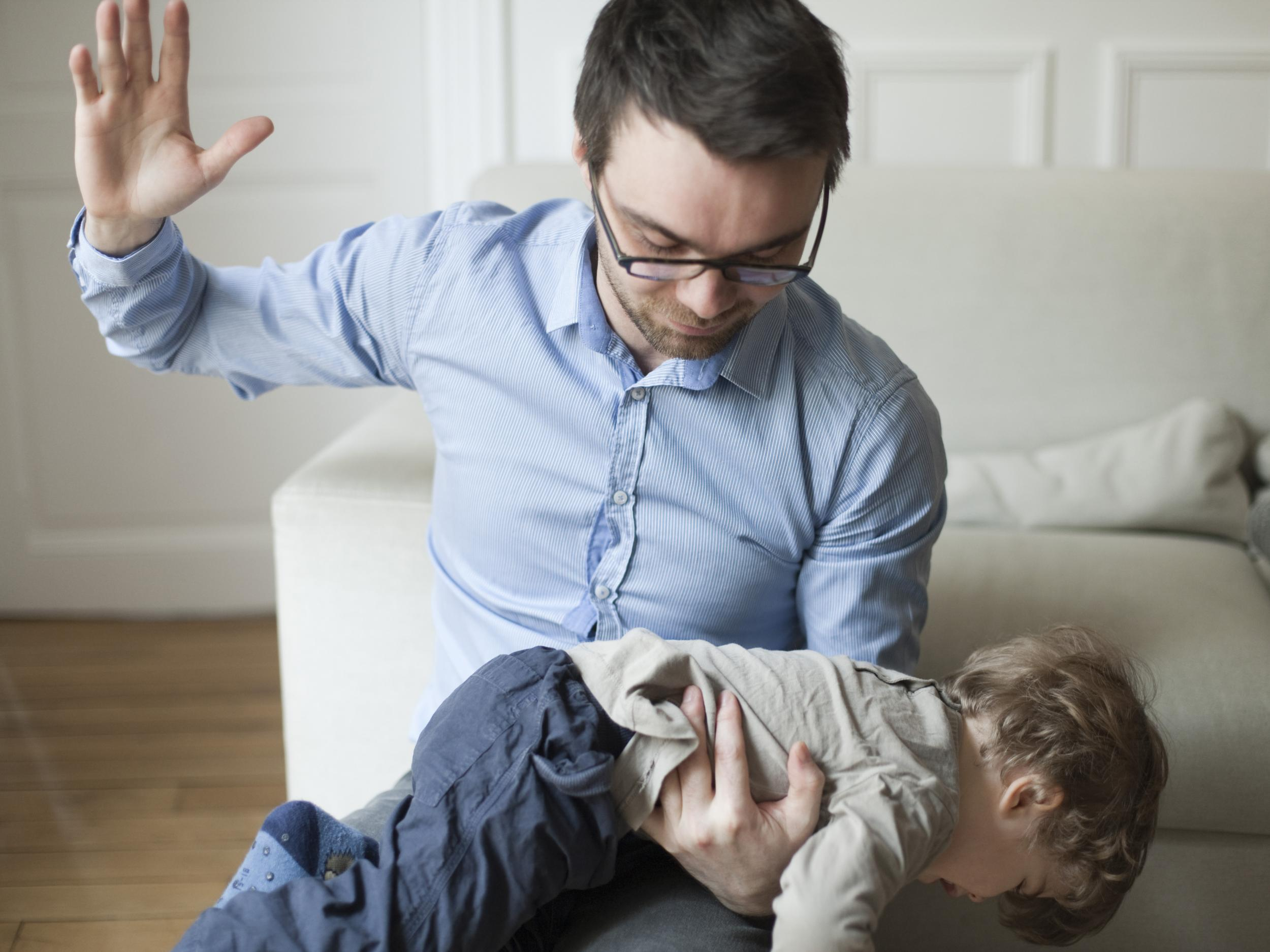 picture Doctors warn parents against spanking kids in new guidance