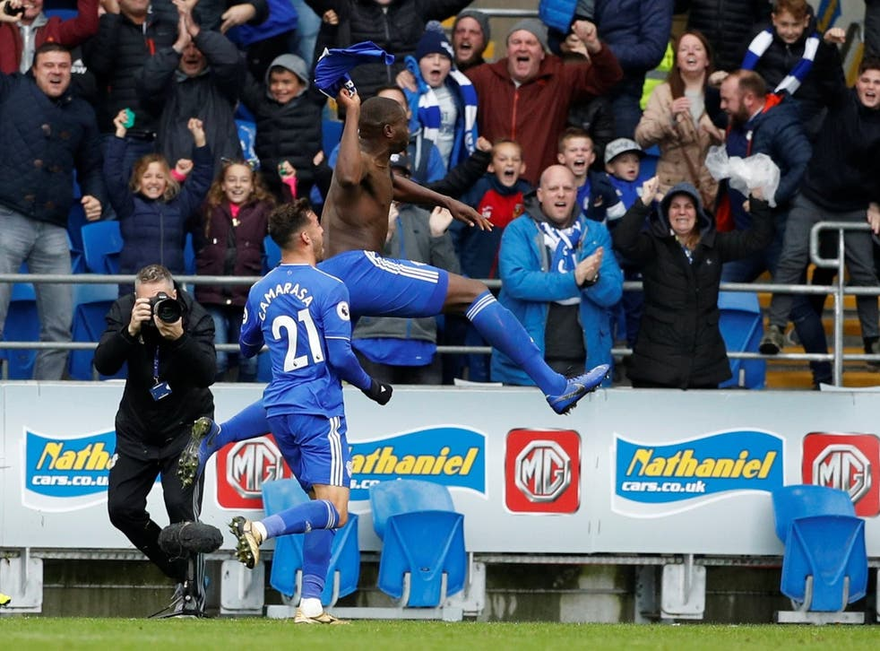 Sol Bamba scored the late winner for Cardiff