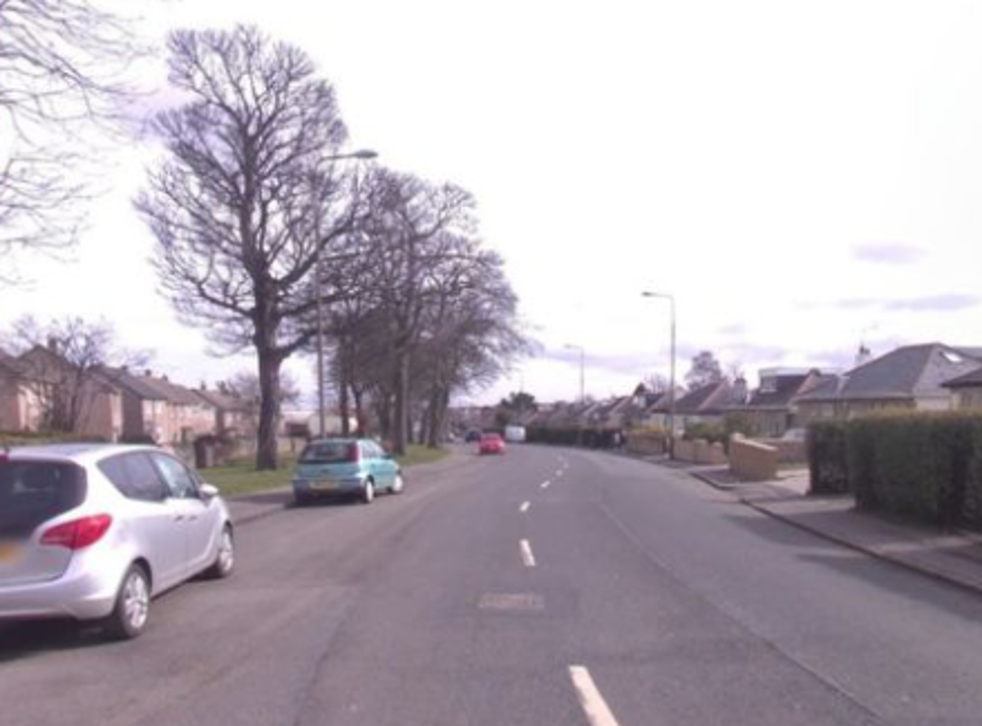 The victim was attacked when she answered the door of the property in Captain's Road, south-east Edinburgh on Friday night.