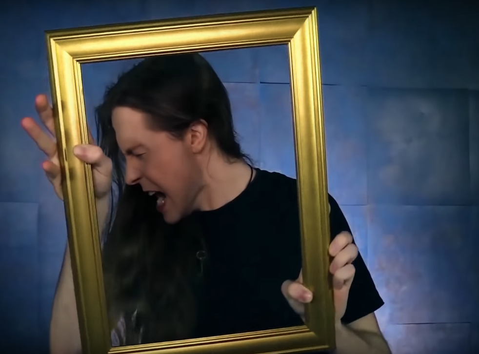 A still from Threatin's music video 'Living is Dying'