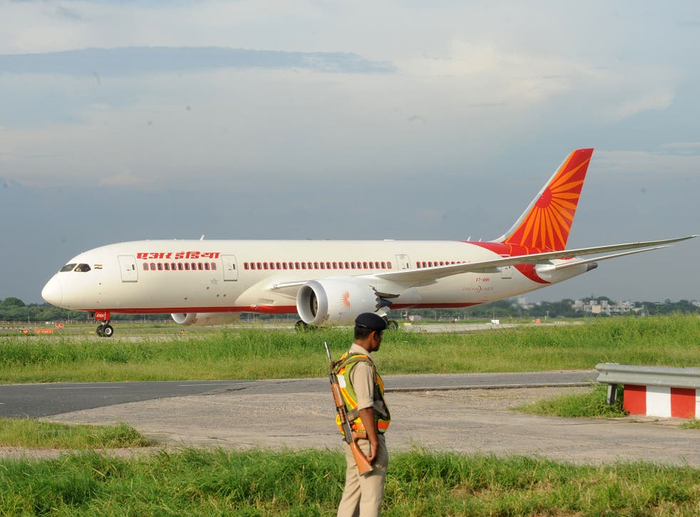 Two Air India pilots were grounded on Sunday