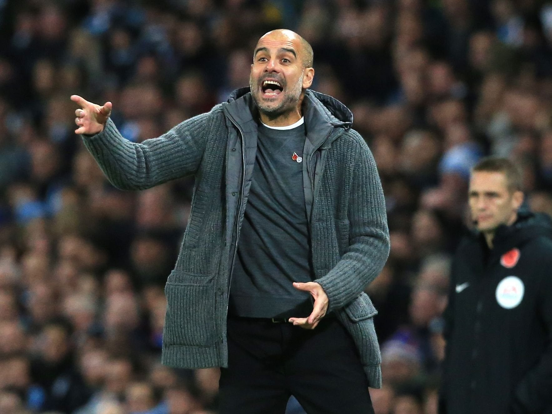 Manchester City manager Pep Guardiola receives FA warning for Anthony Taylor comments