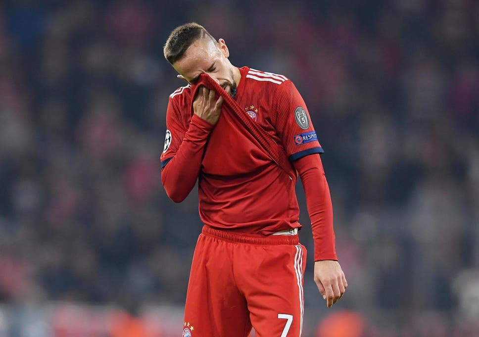 new product 36c31 7e025 Franck Ribery involved in 'altercation' with French TV ...