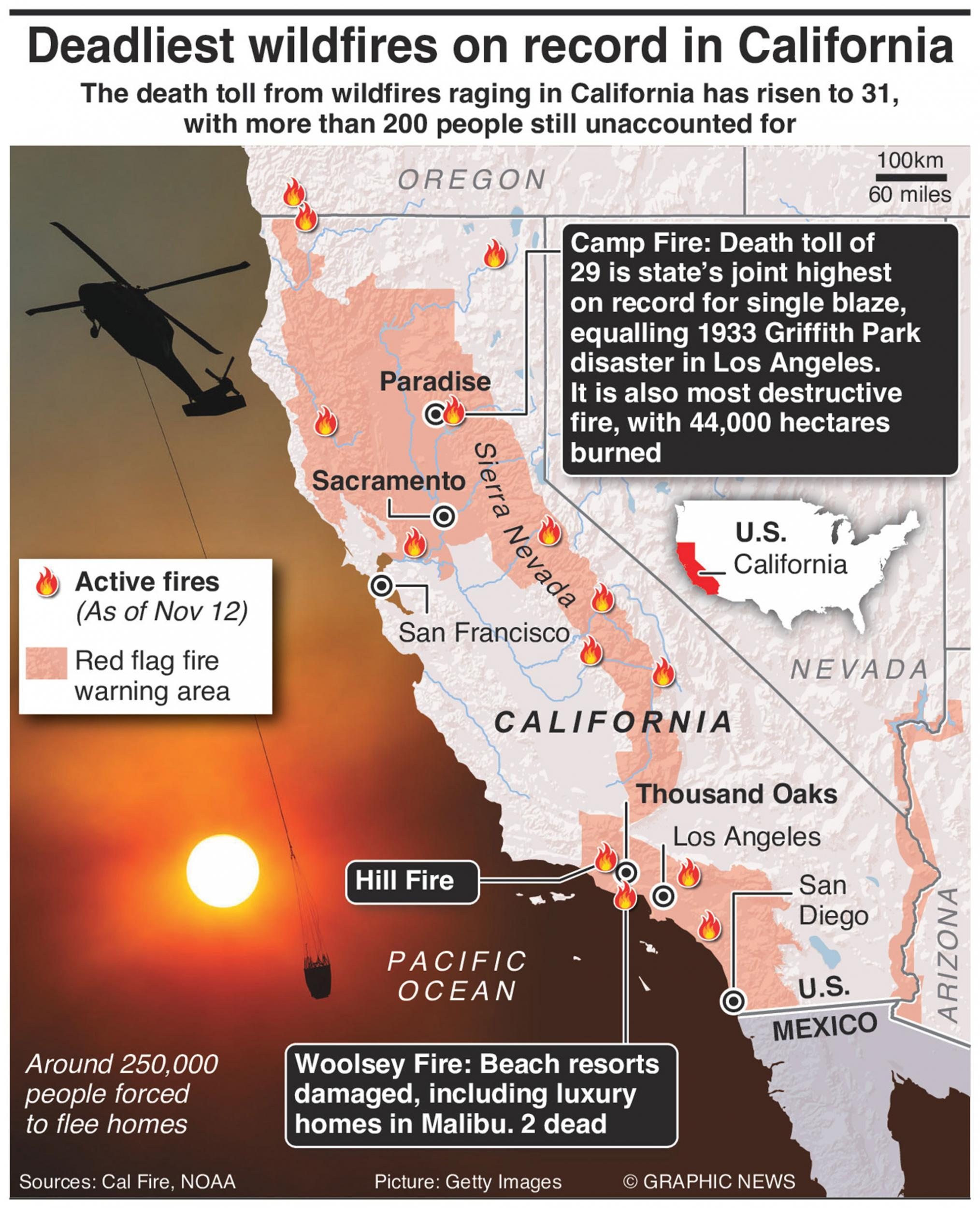 California wildfires: How 'devil winds' are making ... on camarillo springs california map, california mudslide map, california mudflow map, california wildfires current, california jade map, colorado wildfires 2013 map, california torrance los angeles map, california heat wave map, california water map, california wildlife map, california wildfires update, california earthquake map, california storm map, california landslide map, california radar map, california wildflower map, california bridge collapse map, china earthquake map, norcal california map, northern california map,