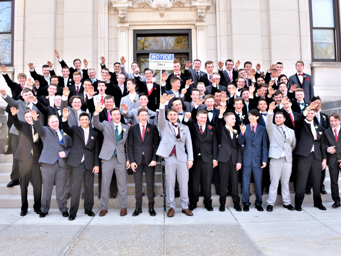 Wisconsin school investigated after students perform Nazi salute  for junior  prom photo  c93ffa7180