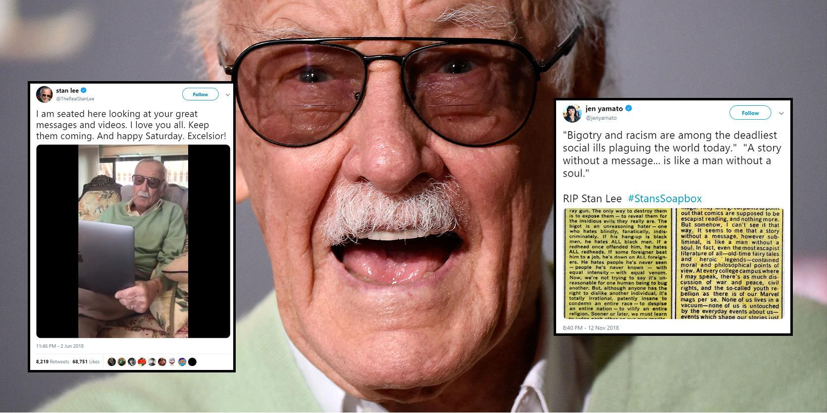 stan lee's 7 most inspiring quotes as marvel comics legend dies aged